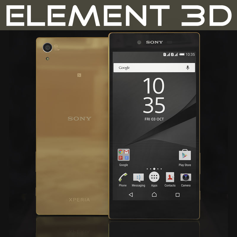 realistic element sony xperia 3d 3ds