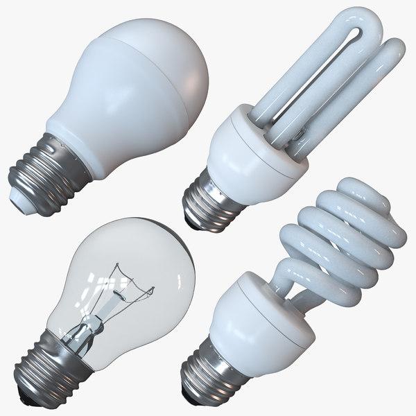 lamp lights obj