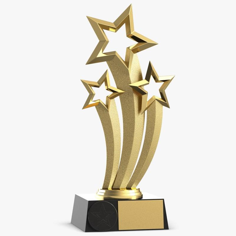 award trophy obj