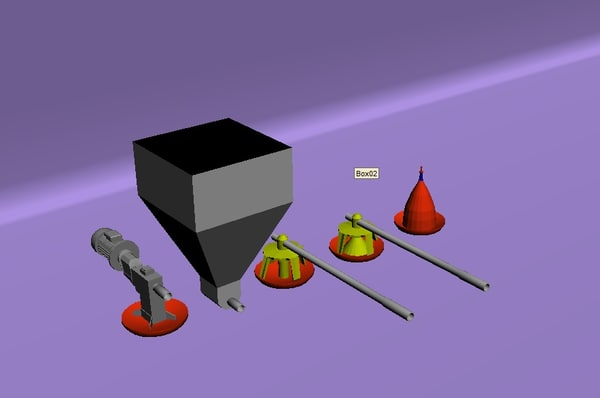3d kit poultry farm model