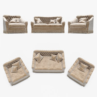 sofa armchair cavio 3d max