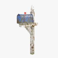 old mailbox 3d model