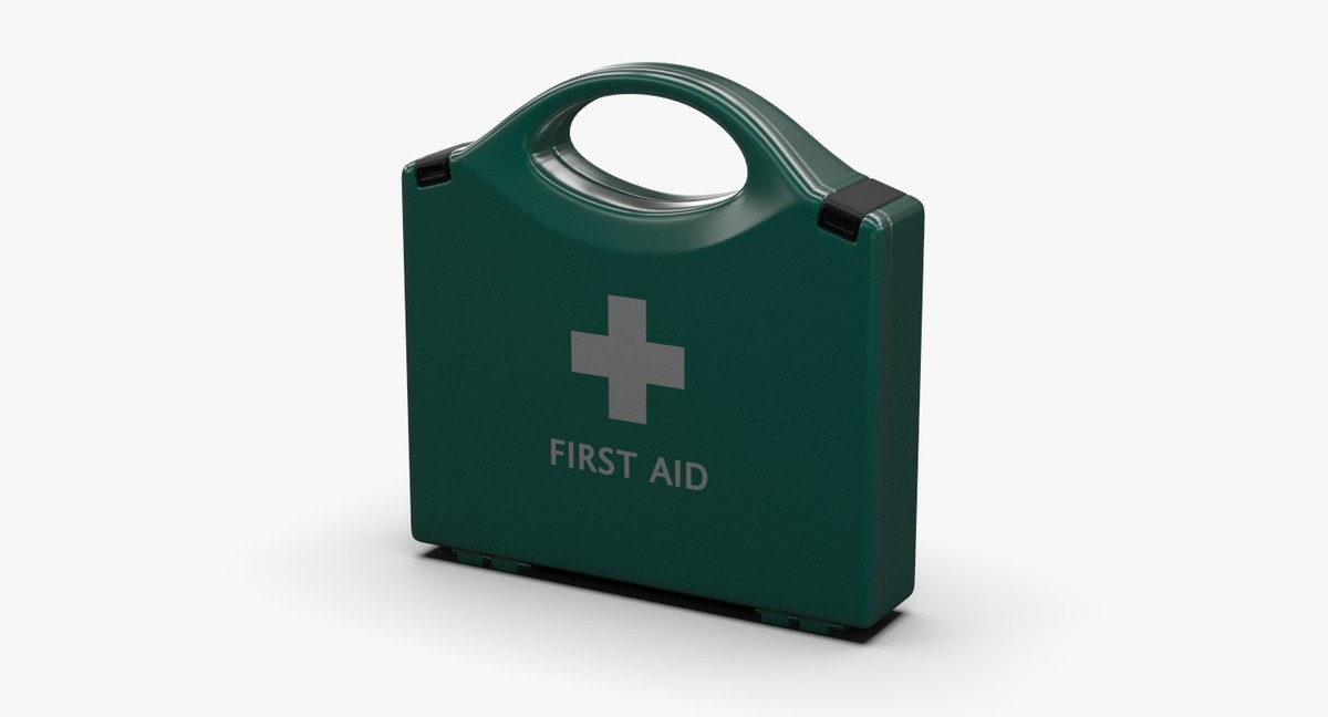 aid kit 3d fbx