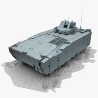 3d model ifv kurganets-25