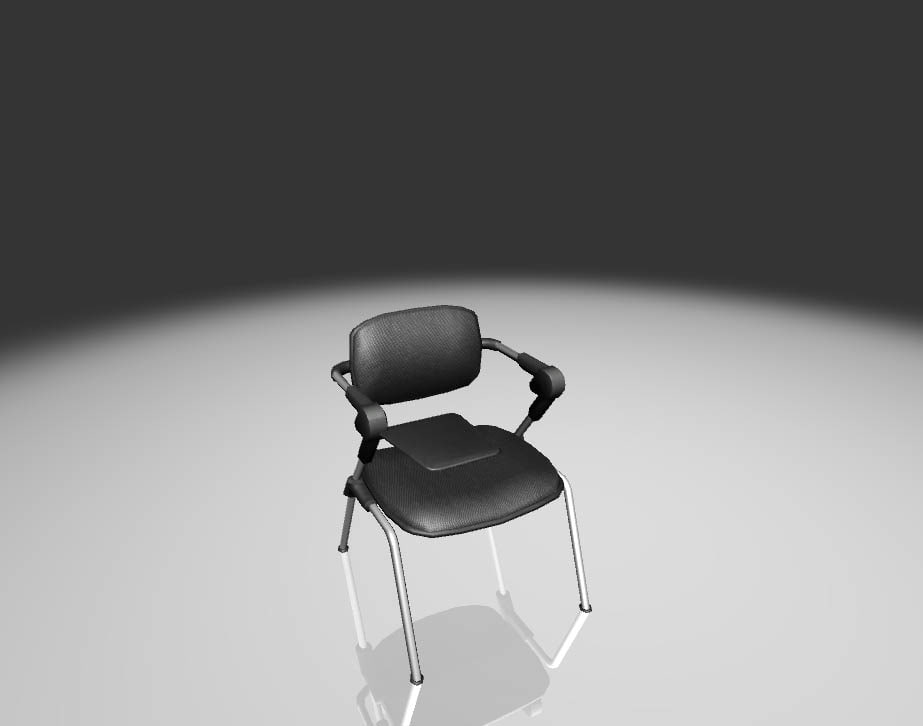3d educational chair model