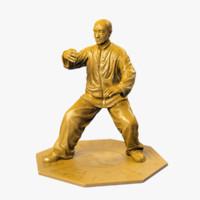 Kung Fu Statue