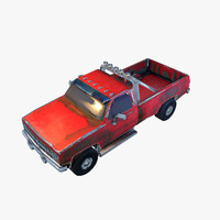 Old Car 3 (low poly )