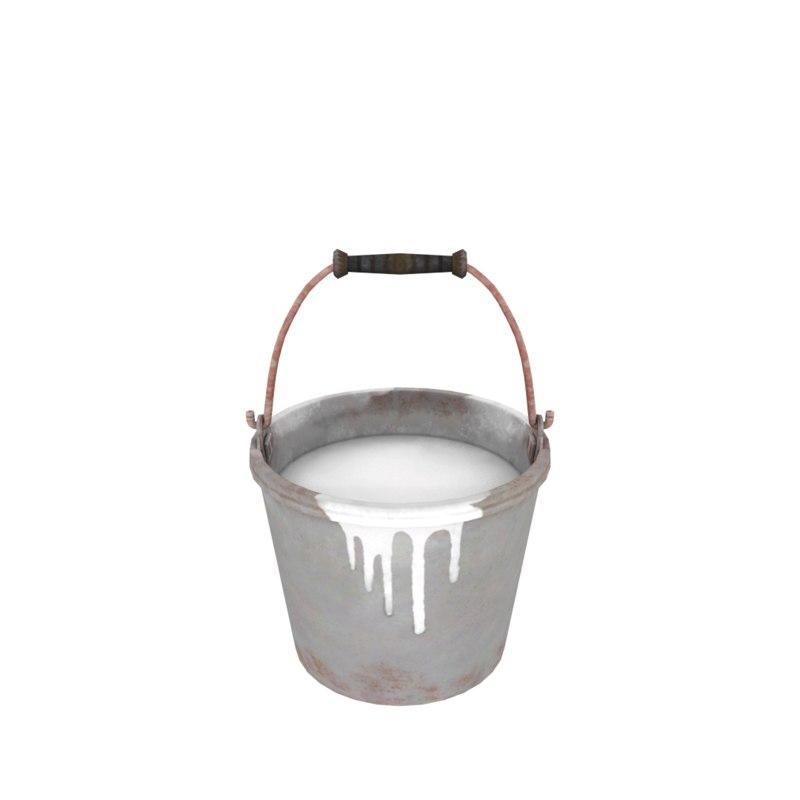 3d 3ds paint bucket