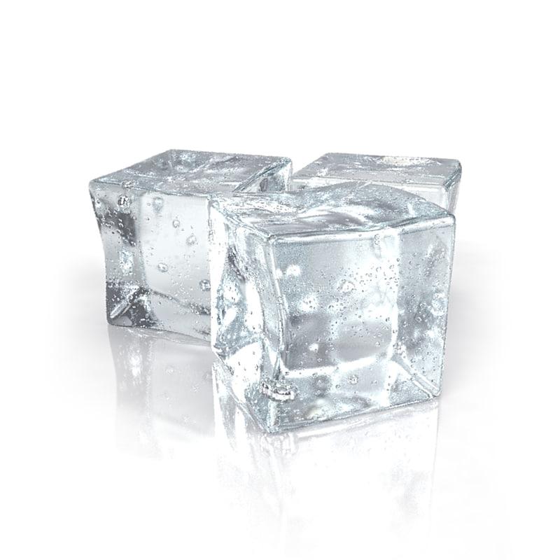 3d 3ds ice cubes