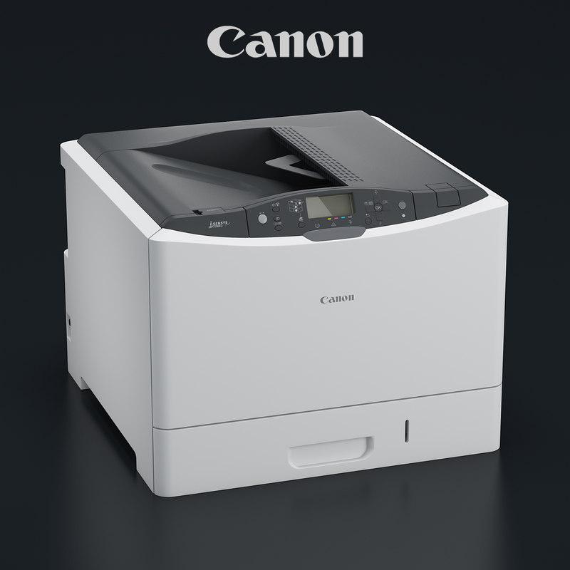 3d model laser printer canon i-sensys