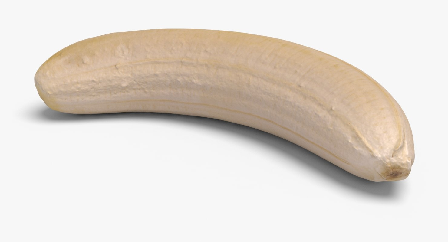 3d banana ready unreal