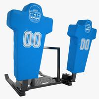 football dummy training 3d max
