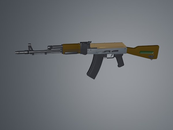 gun ak 47 3ds