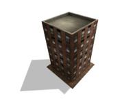3d building edificio