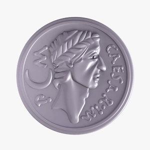 obj caesar coin