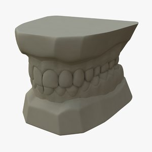 teeth mold 3d ma