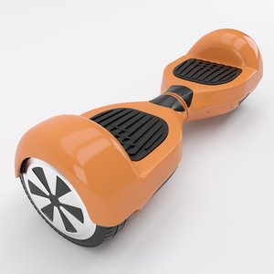 gyroscooter scooter gyro 3d model