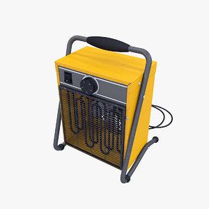 3d heater fan model