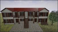 3d model old house 2 |