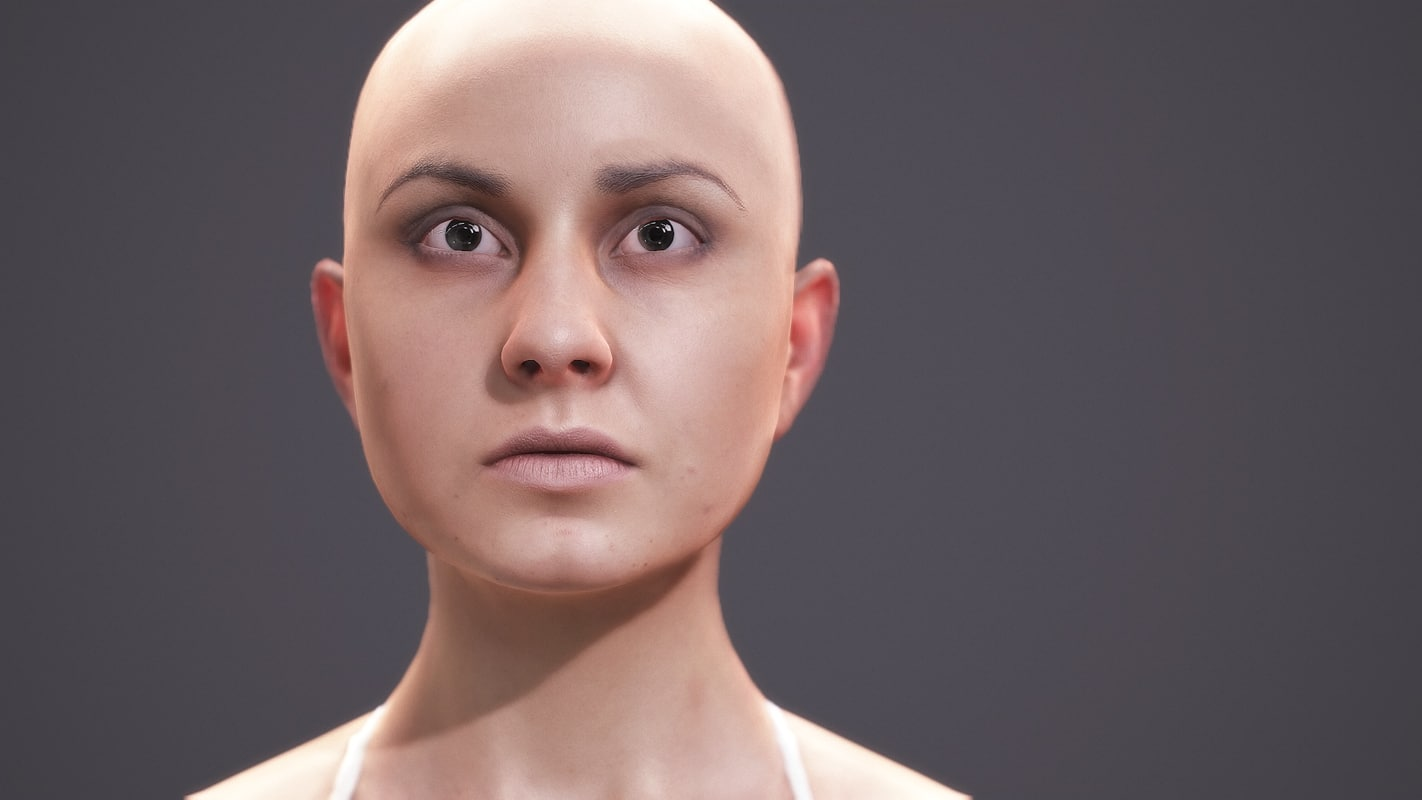 source zbrush scan human 3d model