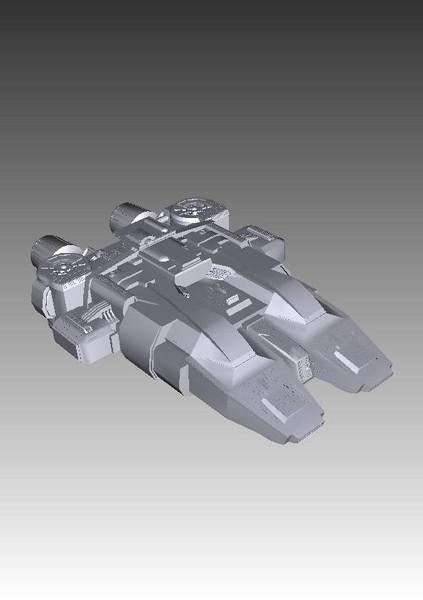 stargate atlantis traveler 3d model