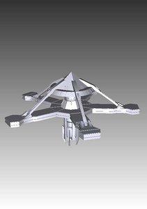 3ds goauld space station stargate sg1