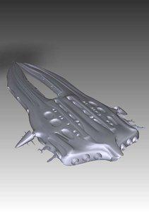 3d model stargate atlantis wraith