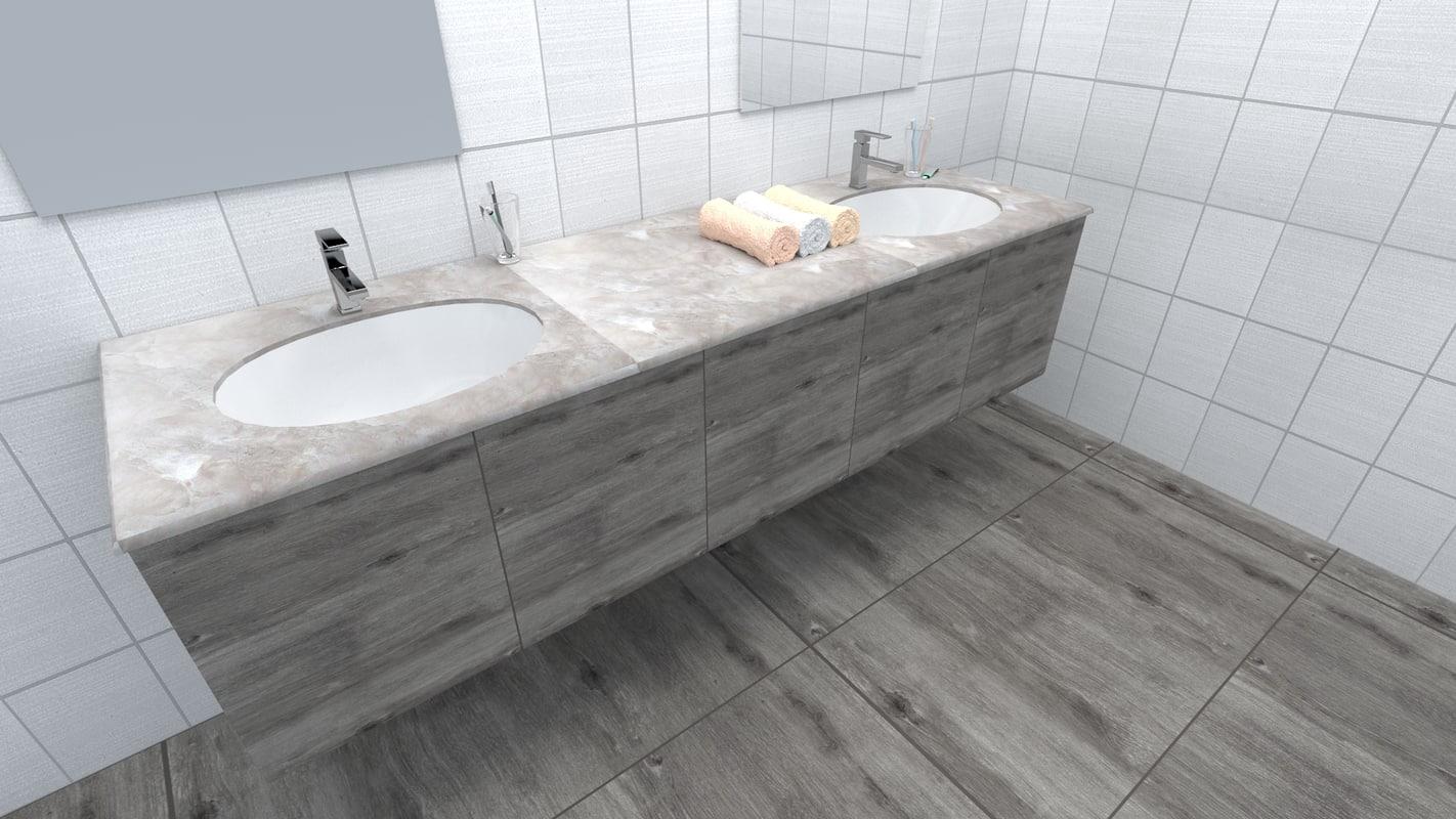 sink modern 3d model