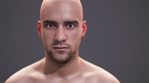 3d character human - scans