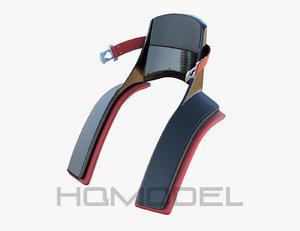 3d f1 neck protection formula model