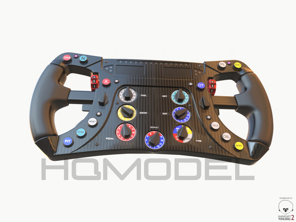 max f1 steer wheel formula