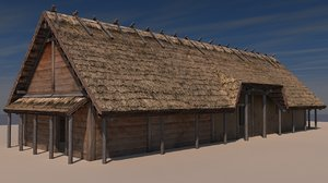 early slope house 3d model