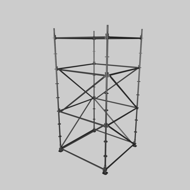 scaffold tower 3ds