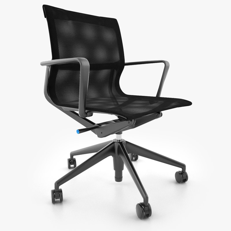 3d vitra physix office chair for Vitra replica