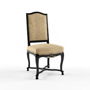 gillesnouailhac chaise regence 3d max