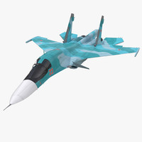 fighter sukhoi su 34