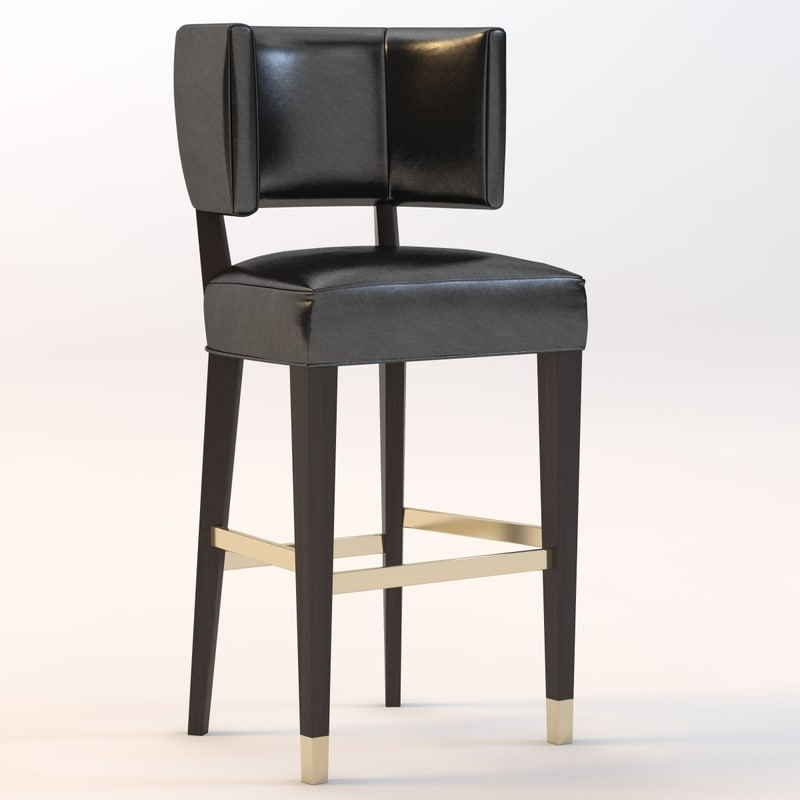 bar stool lily 3ds