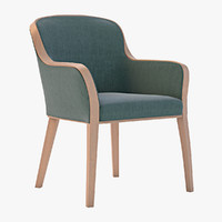 3d model of chair uffe quin