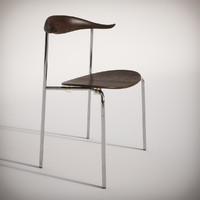 3d ch88 chair carl hansen model