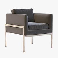 3d model chair octavio lounge