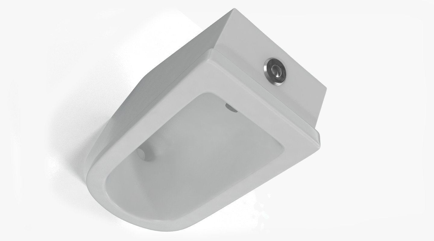 urinal pissoir 3d model