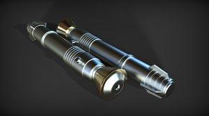 sith darth bane lightsaber 3d 3ds