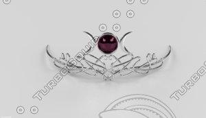 tiara 3d 3ds