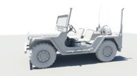 U.S. M151A2 Ford Mutt Jeep