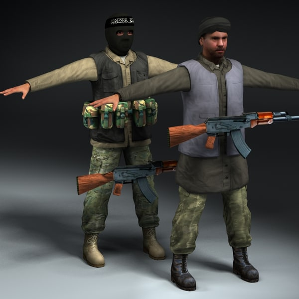 lwo insurgent fighter ak47