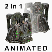 max low-poly craft machines armor
