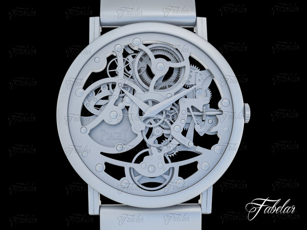 3d watch mechanism 19 model
