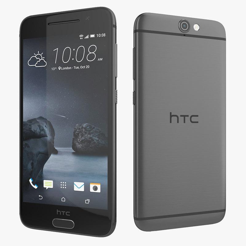 3d model new htc a9 gray