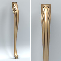 Furniture leg 001