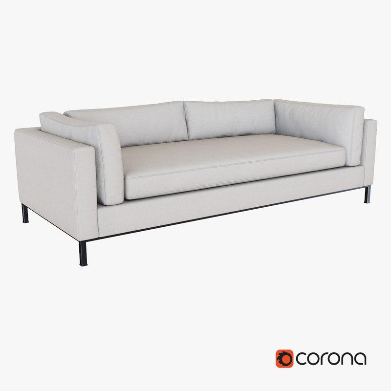 corona sofa 3d max